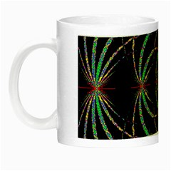 Abstract Spider Web Night Luminous Mugs by BangZart