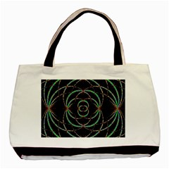 Abstract Spider Web Basic Tote Bag by BangZart