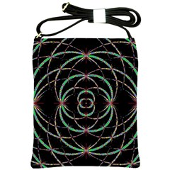 Abstract Spider Web Shoulder Sling Bags by BangZart
