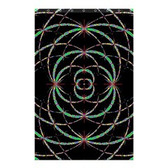 Abstract Spider Web Shower Curtain 48  X 72  (small)  by BangZart