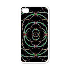 Abstract Spider Web Apple Iphone 4 Case (white)
