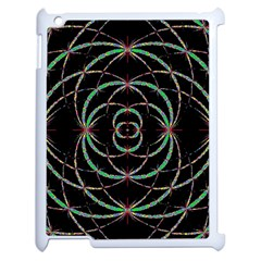 Abstract Spider Web Apple Ipad 2 Case (white) by BangZart