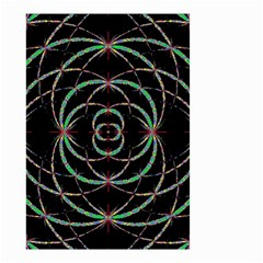Abstract Spider Web Small Garden Flag (two Sides) by BangZart