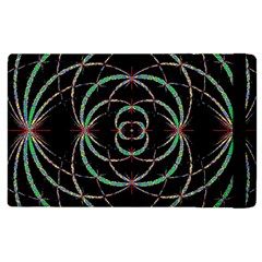 Abstract Spider Web Apple Ipad 2 Flip Case by BangZart