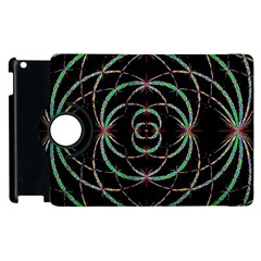 Abstract Spider Web Apple Ipad 3/4 Flip 360 Case by BangZart