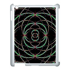 Abstract Spider Web Apple Ipad 3/4 Case (white)