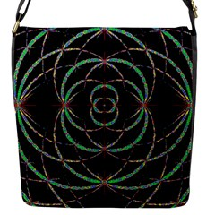 Abstract Spider Web Flap Messenger Bag (s) by BangZart