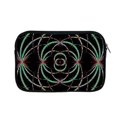 Abstract Spider Web Apple Ipad Mini Zipper Cases by BangZart