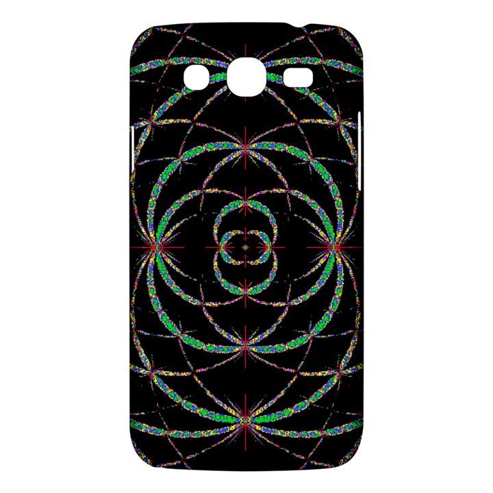 Abstract Spider Web Samsung Galaxy Mega 5.8 I9152 Hardshell Case