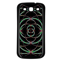 Abstract Spider Web Samsung Galaxy S3 Back Case (black) by BangZart