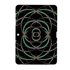 Abstract Spider Web Samsung Galaxy Tab 2 (10 1 ) P5100 Hardshell Case