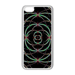 Abstract Spider Web Apple Iphone 5c Seamless Case (white) by BangZart