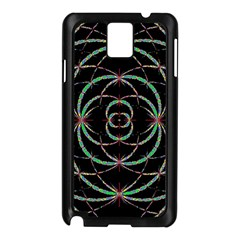 Abstract Spider Web Samsung Galaxy Note 3 N9005 Case (black) by BangZart