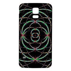 Abstract Spider Web Samsung Galaxy S5 Back Case (white)