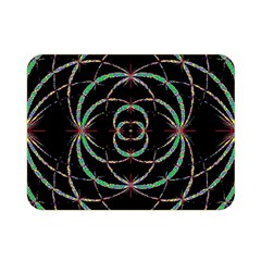 Abstract Spider Web Double Sided Flano Blanket (mini)  by BangZart