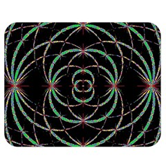 Abstract Spider Web Double Sided Flano Blanket (medium)  by BangZart