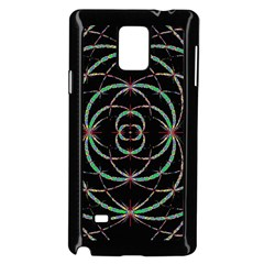 Abstract Spider Web Samsung Galaxy Note 4 Case (black)