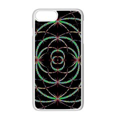 Abstract Spider Web Apple Iphone 7 Plus White Seamless Case by BangZart