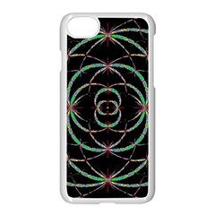 Abstract Spider Web Apple Iphone 7 Seamless Case (white)