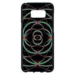 Abstract Spider Web Samsung Galaxy S8 Plus Black Seamless Case by BangZart