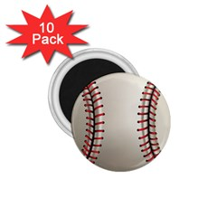 Baseball 1 75  Magnets (10 Pack)
