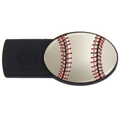 Baseball Usb Flash Drive Oval (2 Gb) by BangZart