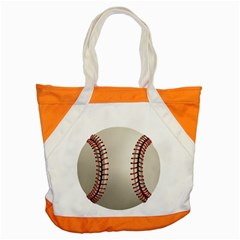 Baseball Accent Tote Bag