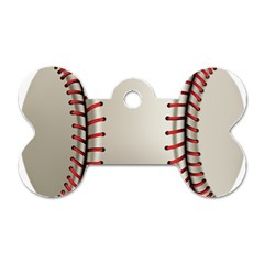 Baseball Dog Tag Bone (one Side) by BangZart