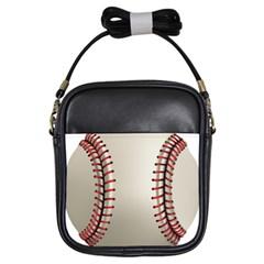 Baseball Girls Sling Bags by BangZart