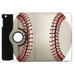 Baseball Apple Ipad Mini Flip 360 Case by BangZart