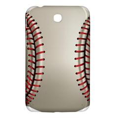 Baseball Samsung Galaxy Tab 3 (7 ) P3200 Hardshell Case  by BangZart