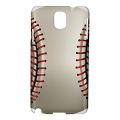 Baseball Samsung Galaxy Note 3 N9005 Hardshell Case by BangZart