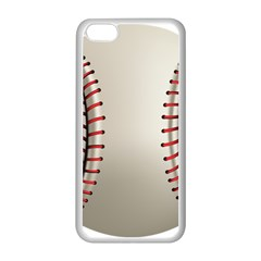 Baseball Apple Iphone 5c Seamless Case (white) by BangZart