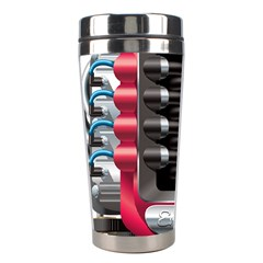 Car Engine Stainless Steel Travel Tumblers