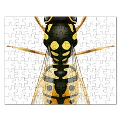 Wasp Rectangular Jigsaw Puzzl