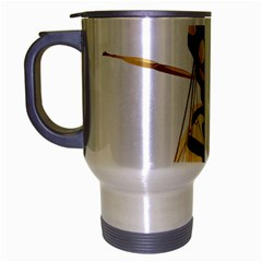 Wasp Travel Mug (silver Gray) by BangZart