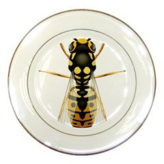 Wasp Porcelain Plates by BangZart