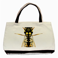 Wasp Basic Tote Bag by BangZart
