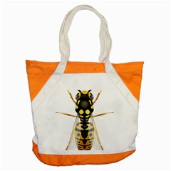Wasp Accent Tote Bag