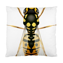 Wasp Standard Cushion Case (two Sides) by BangZart