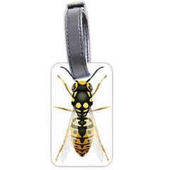 Wasp Luggage Tags (one Side)  by BangZart