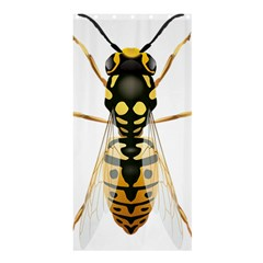 Wasp Shower Curtain 36  X 72  (stall)  by BangZart