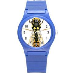 Wasp Round Plastic Sport Watch (s) by BangZart