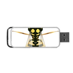 Wasp Portable Usb Flash (one Side) by BangZart