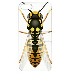 Wasp Apple Iphone 5 Hardshell Case With Stand by BangZart