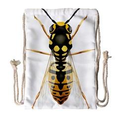 Wasp Drawstring Bag (large)
