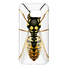 Wasp Samsung Galaxy S7 Edge Hardshell Case by BangZart