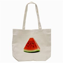 Piece Of Watermelon Tote Bag (cream) by BangZart
