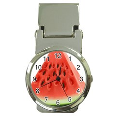 Piece Of Watermelon Money Clip Watches by BangZart