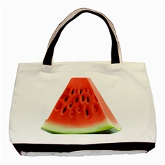 Piece Of Watermelon Basic Tote Bag by BangZart